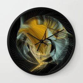 Van Gogh's in Stitches Wall Clock