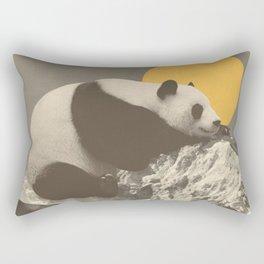 Panda's Nap Rectangular Pillow