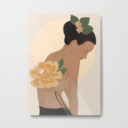 Gentle Beauty Metal Print