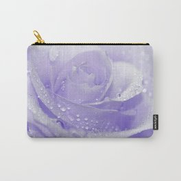 Rose with Drops 085 Carry-All Pouch