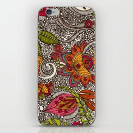 Random Flowers iPhone Skin
