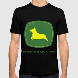 Nothing runs like a corgi T-shirt