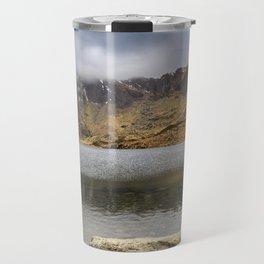 Lake Idwal Winter Travel Mug