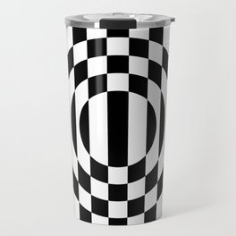 Hot Spot || Black & White Travel Mug