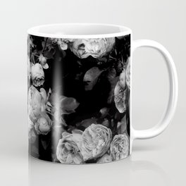 Roses are black and white Coffee Mug