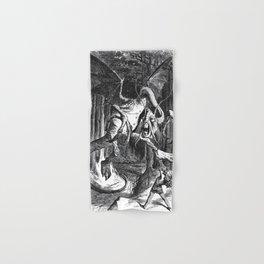 Jabberwocky Illustration from Alice in Wonderland Hand & Bath Towel