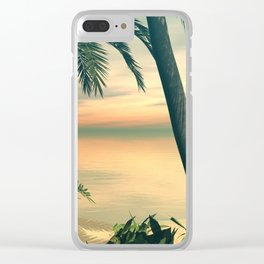 View of the sea Clear iPhone Case