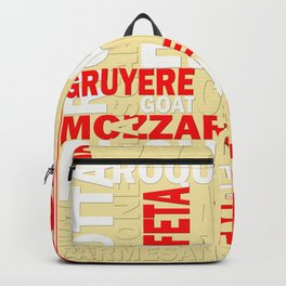 Graphic Cheese Backpack