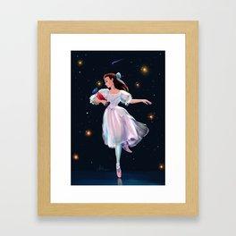 Midnight Dance Framed Art Print