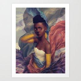 Friend (Lover) Art Print