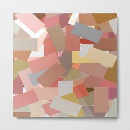 Coral Blocks 5050 Metal Print