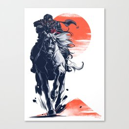 Demon Rider Canvas Print