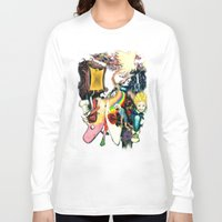 final fantasy Long Sleeve T-shirts featuring Final Adventure Fantasy Time! by Noel Castillo