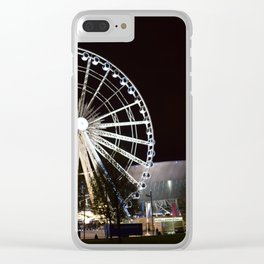 Liverpool By Night Clear iPhone Case