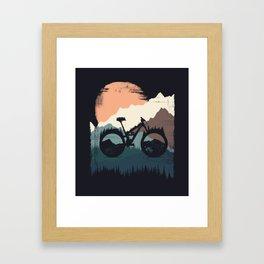 Yety Enduro Framed Art Print