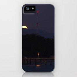 Goleta Full Moon Rise iPhone Case