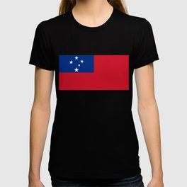 National flag of Samoa - Authentic version scale and color T-shirt