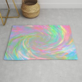 Holographic Cosmic Storm Rug