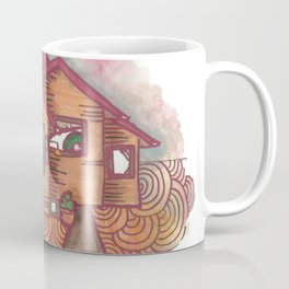 neighbours are watching  Coffee Mug
