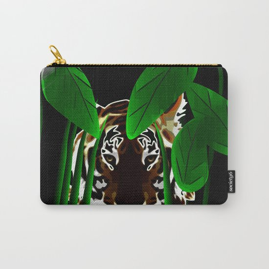 Tiger In the Night Carry-All Pouch