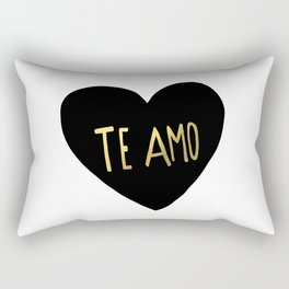 Te Amo Rectangular Pillow