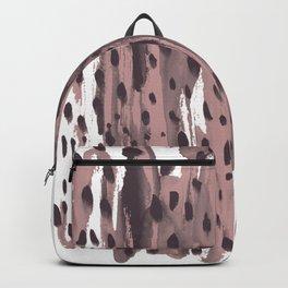 Rose and Dark Violet Backpack