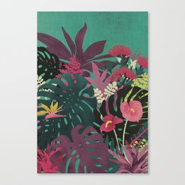 Tropical Tendencies Canvas Print