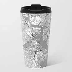 Boston Map Line Travel Mug