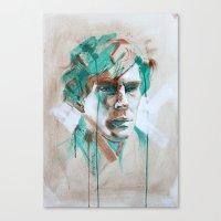 sherlock Canvas Prints featuring Sherlock by Dan Olivier-Argyle