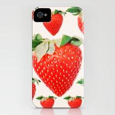 strawberry explosion Slim Case iPhone (4, 4s)