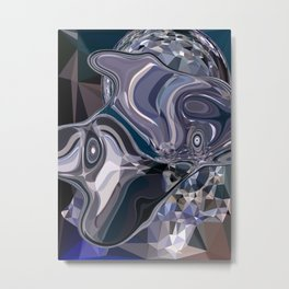 sapphires 2 Metal Print