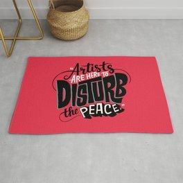Disturb The Peace Rug