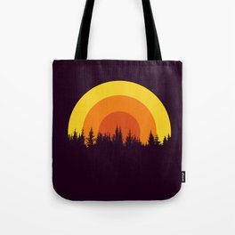 summer mountain Tote Bag