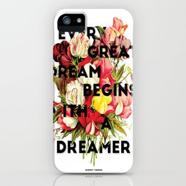 Every Great Dream, 2015 iPhone Case