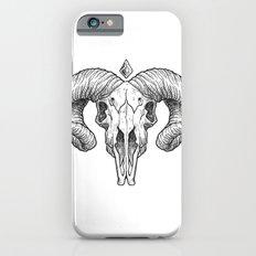 Skull Sketch iPhone 6s Slim Case