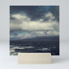 Wild Ocean with Rainbow Mini Art Print
