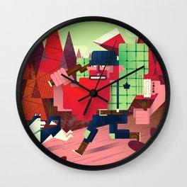 Jacques Le Brut Wall Clock