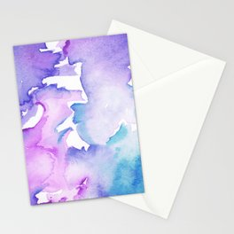 blue wash Stationery Cards