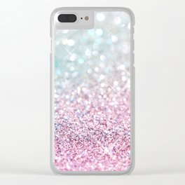 Pastel Winter Clear iPhone Case