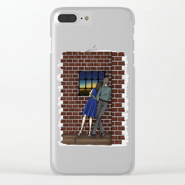 FitzSimmons Sunrise Clear iPhone Case