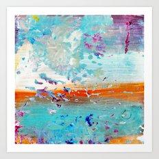 color splash #3 Art Print