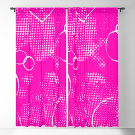 Texture #26 in Hot Pink Blackout Curtain