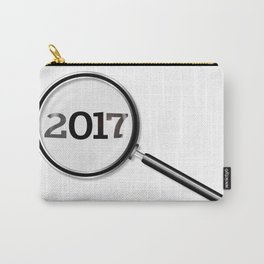 2017 Magnifying Glass Carry-All Pouch