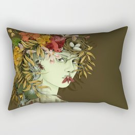 Persephone, goddess of Spring Rectangular Pillow