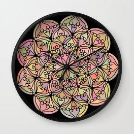 Mandala 04 Wall Clock