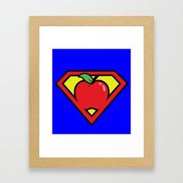 Super Teacher Framed Art Print