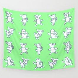 Stickimals - Sheep Wall Tapestry
