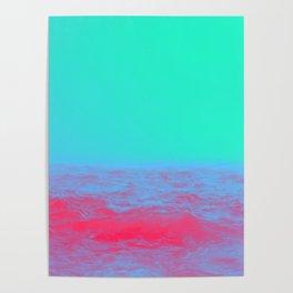 Neon Sea Poster