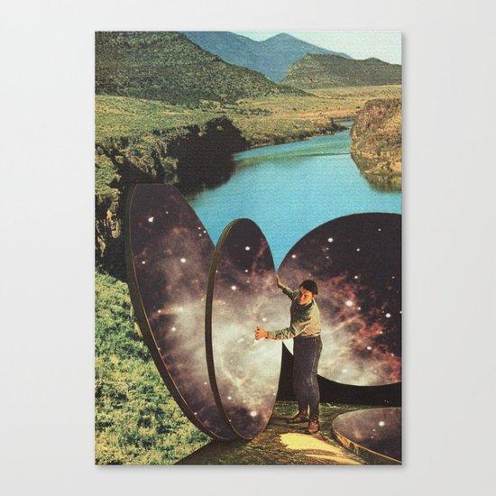 El Artista de los Cielos Canvas Print