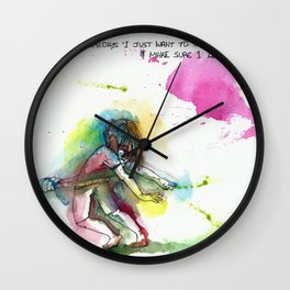 Going back Wall Clock